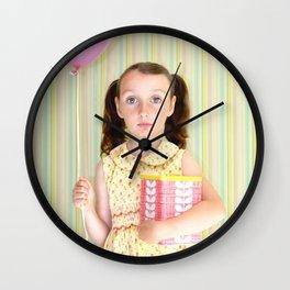 Girl with Balloon Wall Clock