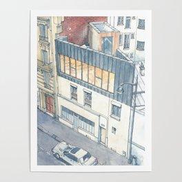 Saganaki House Poster