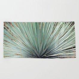 Agave Plant Beach Towel