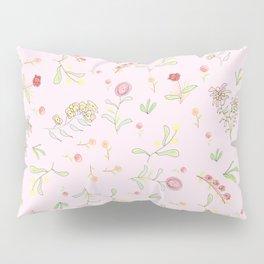Pink Garden Pillow Sham