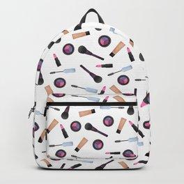 Scattered Makeup Pattern Backpack