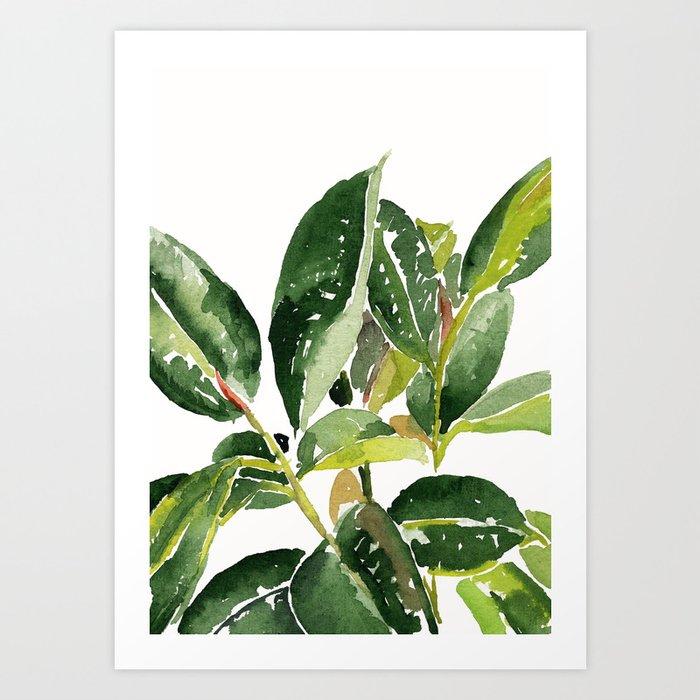 Leaves Kunstdrucke