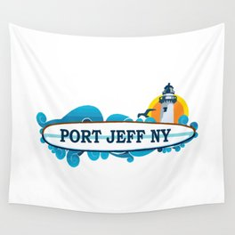 Port Jefferson- Long Island. Wall Tapestry