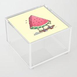 Watermelon Slice Skater Acrylic Box