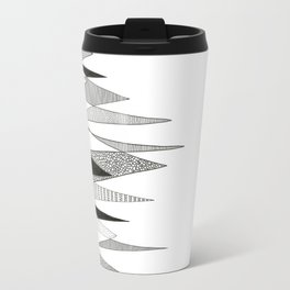 Spikes and Pines (pen on paper) Travel Mug