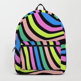 Fluid Neon Lines Backpack