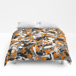 Urban alcohol camouflage Comforters