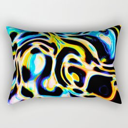 Marbled XI Rectangular Pillow