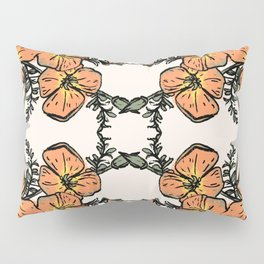 CALIFORNIA POPPIES Pillow Sham