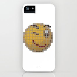 Emoticon Wink iPhone Case