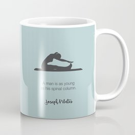 Pilates Inspiratin Coffee Mug