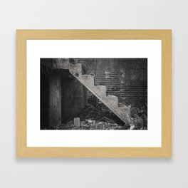 Second Floor No More Framed Art Print