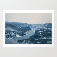 Northwest Canada Mountains Art Print