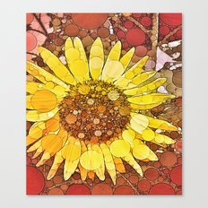 :: Sunflower Wishes :: Canvas Print