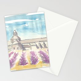 Provence Lavender and Abbey Stationery Cards