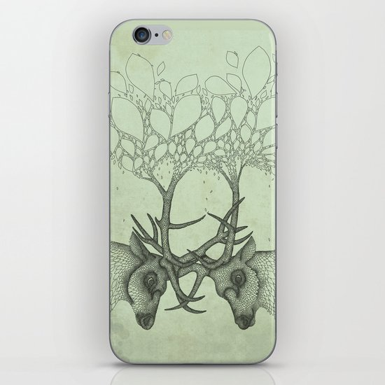 Into the Spring iPhone & iPod Skin