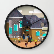Super Arrested Development  Wall Clock
