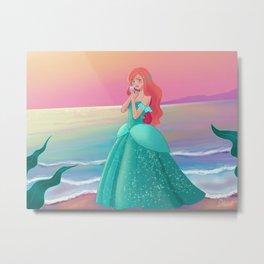 Princess of the sea Metal Print