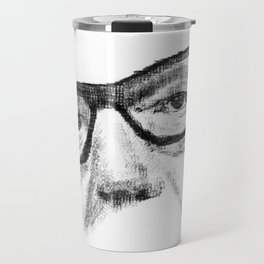 Typewritten Allende Travel Mug