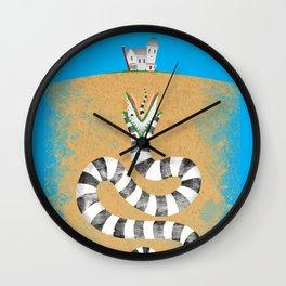 Recently Deceased Wall Clock