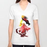 gypsy V-neck T-shirts featuring Gypsy by sladja