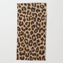 Cheetah Print Beach Towels Society6