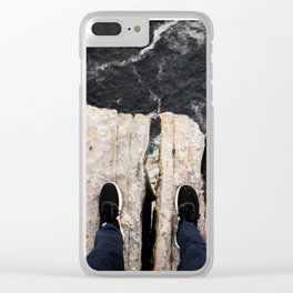 Natures Diving Board Clear iPhone Case