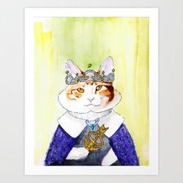Duchess Penelope Art Print