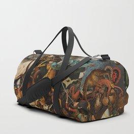 Pieter Bruegel the Elder The Fall of the Rebel Angels Duffle Bag