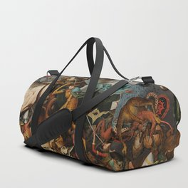 Pieter Bruegel the Elder The Fall of the Rebel Angels Duffle Bag