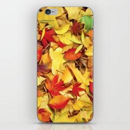 Falling for Autumn iPhone Skin