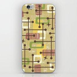 Mid Century Modern Abstract Pattern 834 iPhone Skin