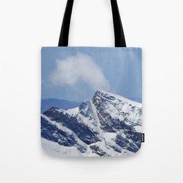 """Veleta mountain"". Aerial photography Tote Bag"