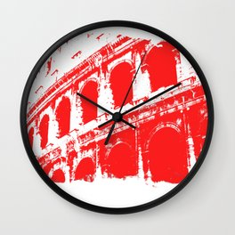 Way of the Warrior - Roman Colosseum Wall Clock