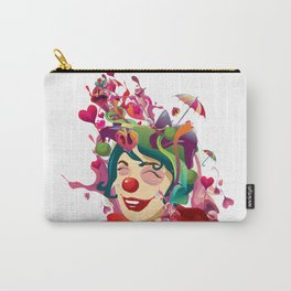 happines is not always feeling happy Carry-All Pouch