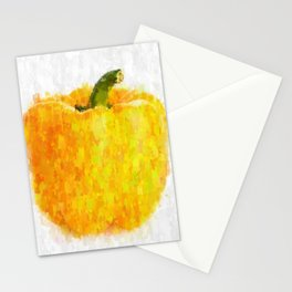 Big Yellow Pepper Stationery Cards