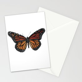 Mystical monarch butterfly Stationery Cards