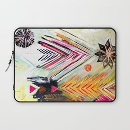 """""""True North"""" Original Painting by Flora Bowley Laptop Sleeve"""