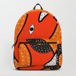 Whales - aboriginal Backpack