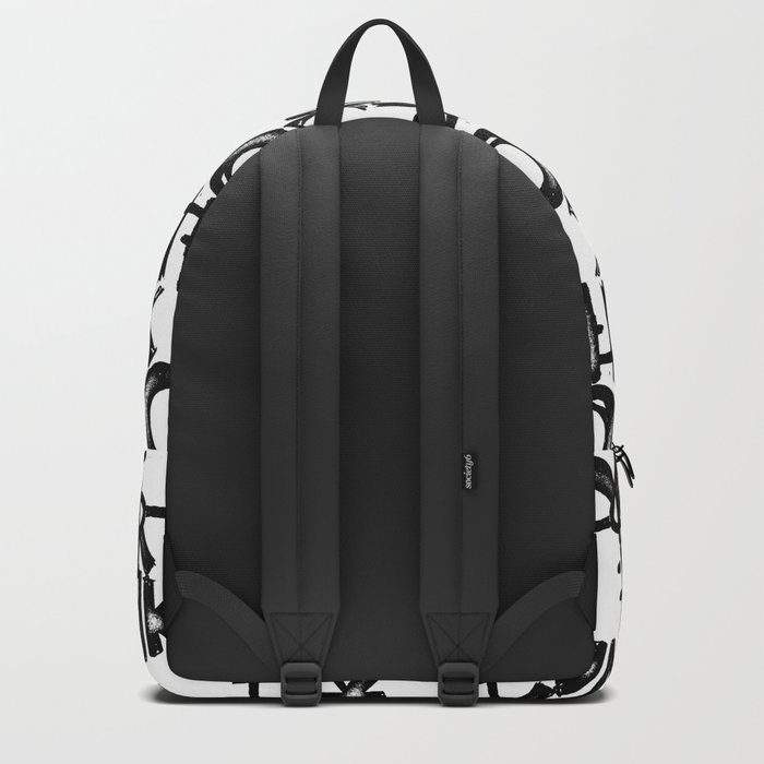 over think it. Backpack