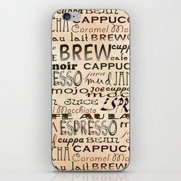 Coffee and Cream iPhone Skin