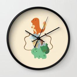 Pocket Monsters Wall Clock