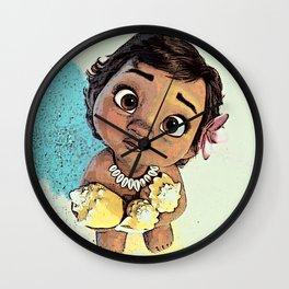 Moana Baby Wall Clock