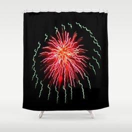 Night Ride Shower Curtain