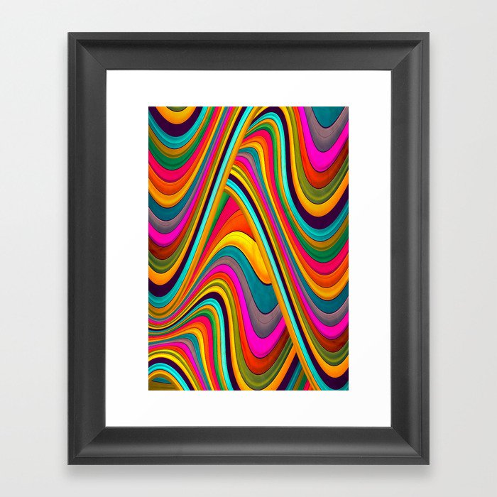 Acid Framed Art Print