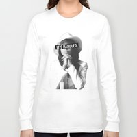 scandal Long Sleeve T-shirts featuring Olivia Pope Scandal It's Handled by Zharaoh