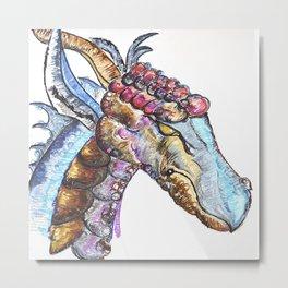 Taggen the Dragon Metal Print