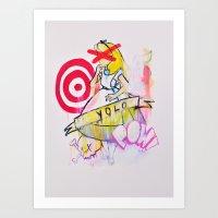 yolo Art Prints featuring YOLO by John O'Connor