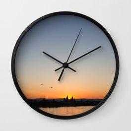Rheinufer Wall Clock