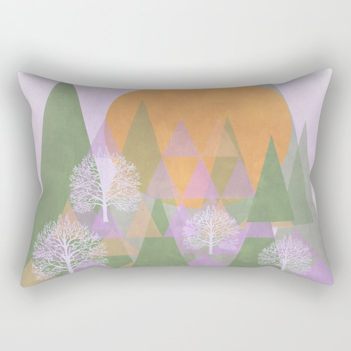 Spring Dream Rectangular Pillow